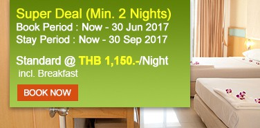 Special Offer Ten Stars Hotel Pratunam